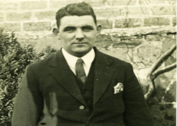 Owen Kelly. Founder and curator of the North Ayrshire Museum (1907 - 72).