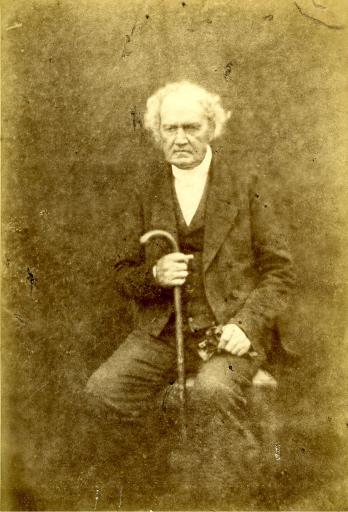 David Landsborough In Old Age