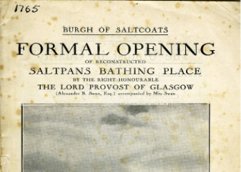 Opening of the new Lido in 1933.